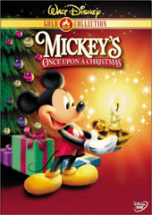 Mickey's Once Upon a Christmas on DVD