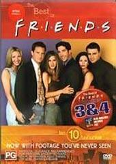 Friends, Best Of: Volume 3 & 4 on DVD