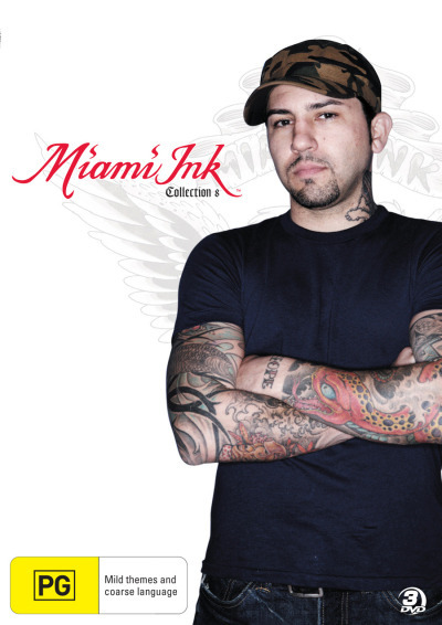 Miami Ink - Collection 8 (Discovery Channel) (3 Disc Set) on DVD