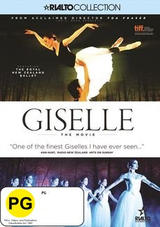 Giselle: The Movie on DVD