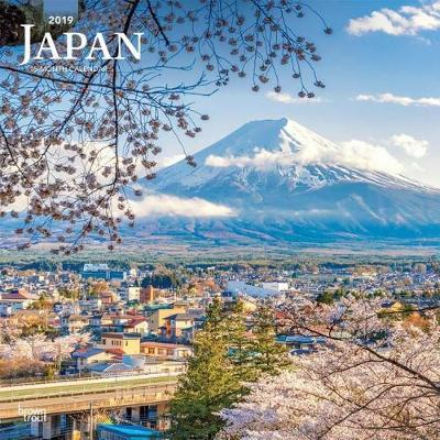 Japan 2019 Square Wall Calendar by Inc Browntrout Publishers