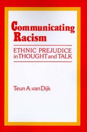 Communicating Racism by Teun A.Van Dijk image