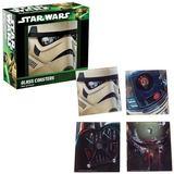 Star Wars - Glass Coasters Set of 4