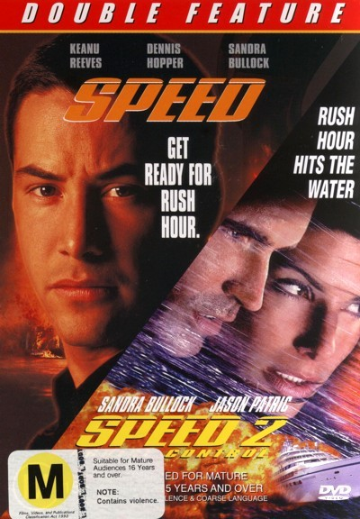 Speed / Speed 2 - Cruise Control on DVD