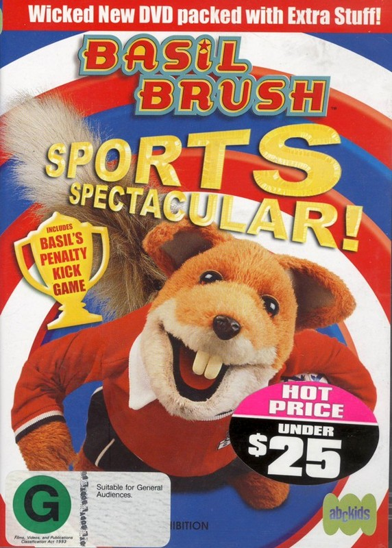 Basil Brush - Vol 3: Sports Spectacular on DVD