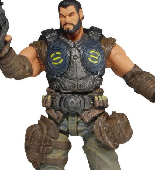 Gears of War 3 Dom Santiago Action Figure - Series 2