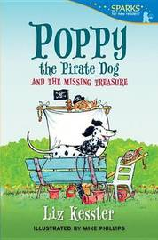 Poppy the Pirate Dog and the Missing Treasure by Liz Kessler image