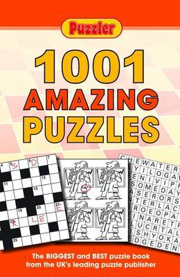 """Puzzler"" 1001 Amazing Puzzles by Puzzler Media image"