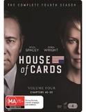 House Of Cards Season 4 on DVD