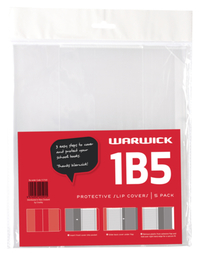 Warwick: 1B5 - Slip-On Book Cover