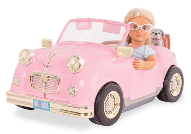 "Our Generation: Retro Car - For 18"" Dolls"