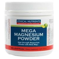 Ethical Nutrients: MEGAZORB Mega Magnesium Powder - Citrus (200g)