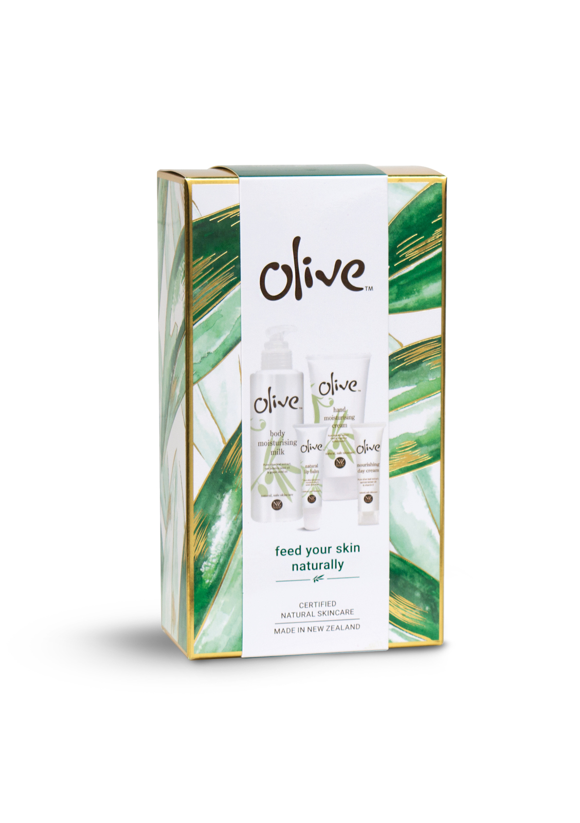 Olive: Feed Your Skin Natually Pamper Pack image