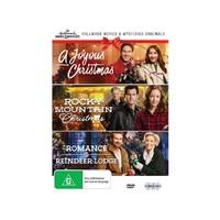 Hallmark Christmas Collection Two: A Joyous Christmas/romance At Reindeer Lodge/rocky Mountain Christmas on DVD