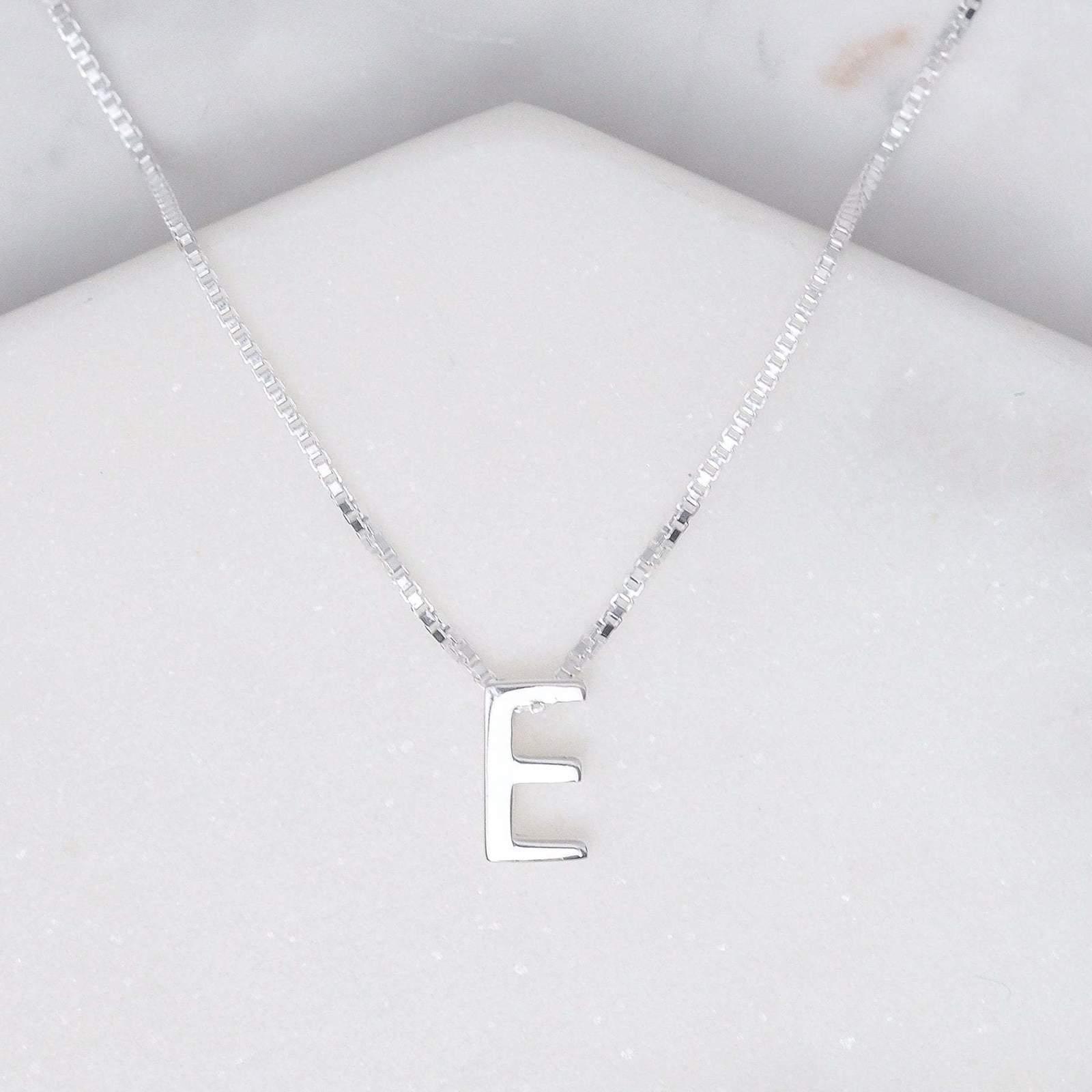 Midsummer Star: Alphabet Necklace - E image