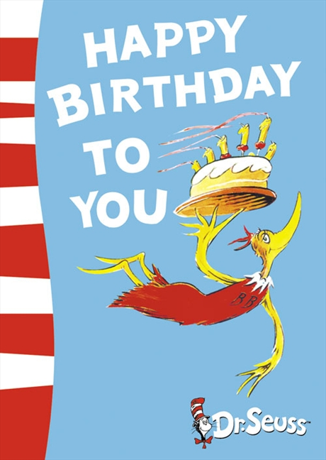 Happy Birthday to You! (Book + CD) by Dr Seuss image