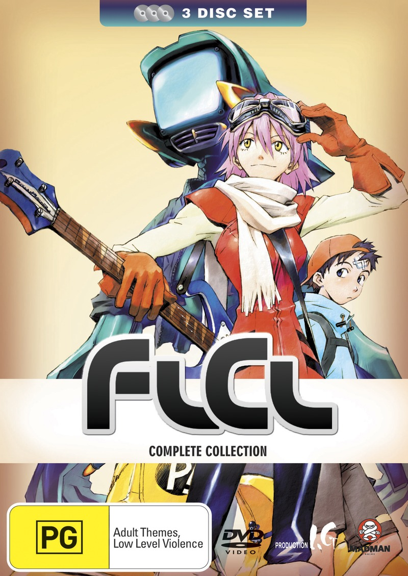 FLCL Collection (3 Disc Set) on DVD image