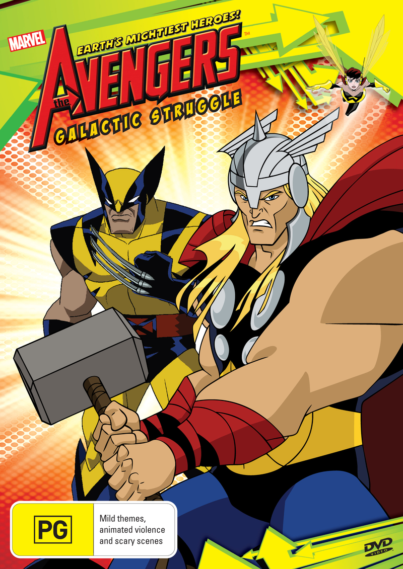 The Avengers Season 2: Galactic Struggle on DVD image