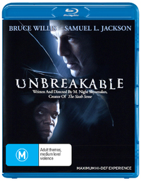 Unbreakable on Blu-ray