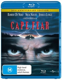 Cape Fear - 20th Anniversary Edition on Blu-ray