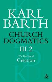Church Dogmatics Classic Nip III.2 by Barth