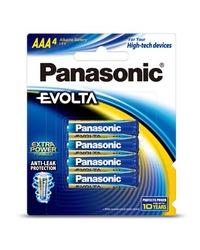 Panasonic Evolta AAA Batteries - 4 Pack
