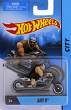 Hot Wheels: 1:64 Diecast Motorcycle w/Rider - Airy 8