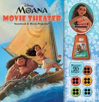 Disney Moana: Movie Theater Storybook & Movie Projector by Disney