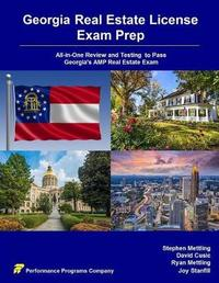 Georgia Real Estate License Exam Prep by Stephen Mettling