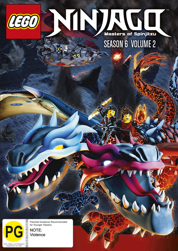 Lego Ninjago - Season 6 (Vol. 2) on DVD