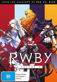 RWBY: Volume 4 on DVD