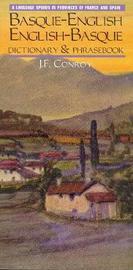 Basque-English / English-Basque Dictionary & Phrasebook by Joseph F. Conroy image
