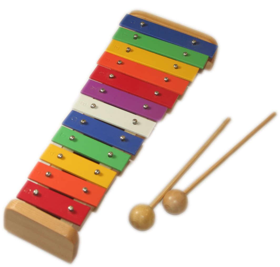 15 Tone Natural Wood Xylophone image