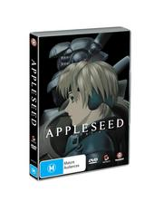 Appleseed: Movie Special Tin Box Edition (2Disc Set) on DVD