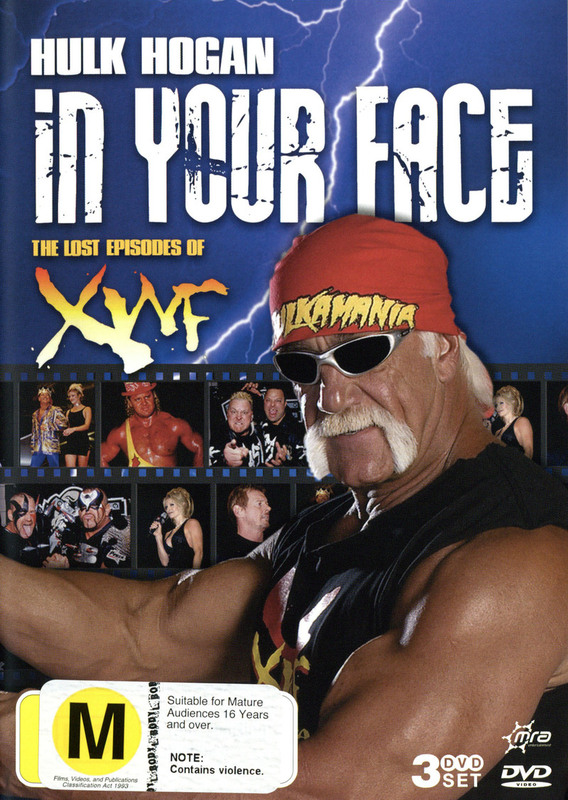 In Your Face - The Lost Episodes Of The XWF (3 Disc Set) on DVD