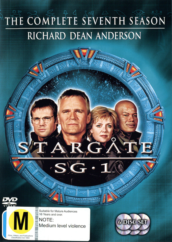 Stargate SG-1 - Season 7 (6 Disc Set) (New Packaging) on DVD