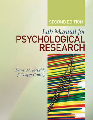 Lab Manual for Psychological Research image