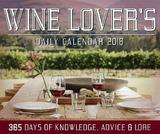 Wine Lover's 2018 Desk Calendar by Editors of Rock Point