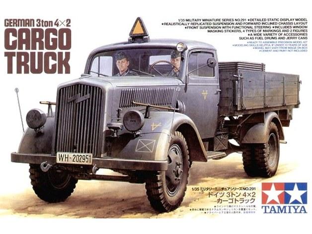Tamiya 1/35 German 3-Ton 4x2 Cargo Truck - Model Kit