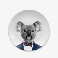 Wild Dining: Ceramic Dinner Plate - Baby Koala (18cm) image