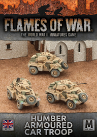 Flames of War: Desert Rats - Humber Armoured Car Troop