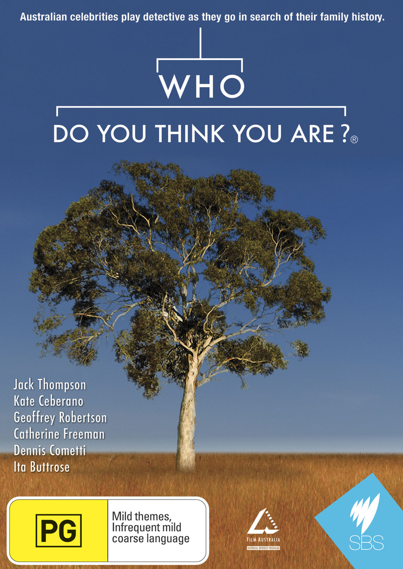 Who Do You Think You Are? (Aus) on DVD image