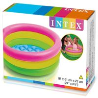 "Intex: Sunset Glow - Kiddie Pool (24"" x 8.5"")"