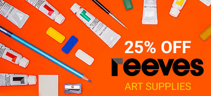 25% off Reeves Art Supplies