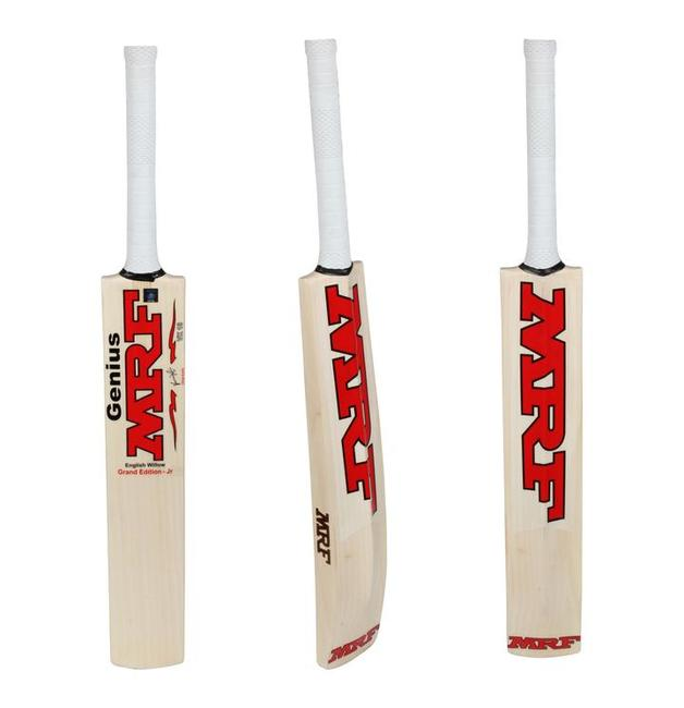 MRF Genius Grand Jr EW Bat (Size 4)
