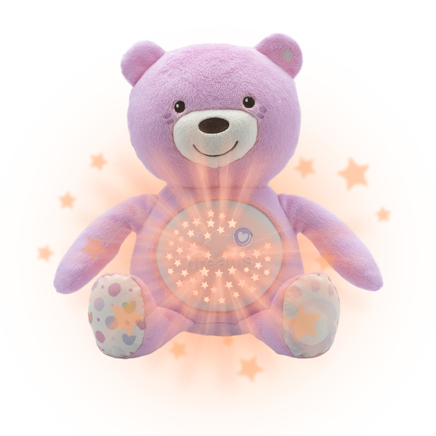 Chicco: Baby Bear Soft Toy - Pink