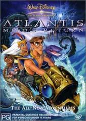 Atlantis 2: Milo's Return on DVD