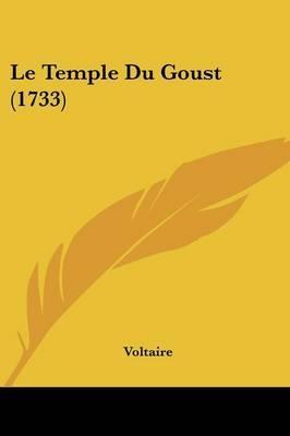 Le Temple Du Goust (1733) by Voltaire image