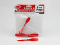 "Red Plastic Propellers 4"" (3pk)"