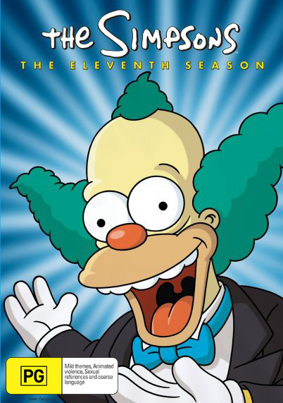 The Simpsons - Season 11 on DVD
